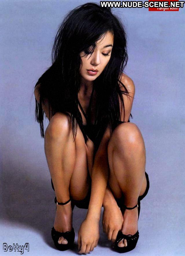 Yunjin Kim No Source Cute Hot Bikini Nude Scene Lingerie Babe Posing