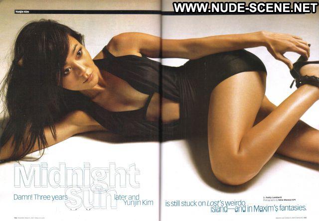 Yunjin Kim No Source Nude Scene Posing Hot Celebrity Cute Nude Posing