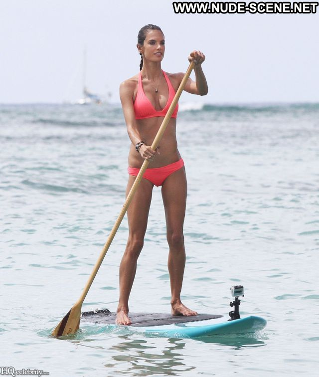 Alessandra Ambrosio Celebrity Nude Scene Famous Babe Hot Celebrity