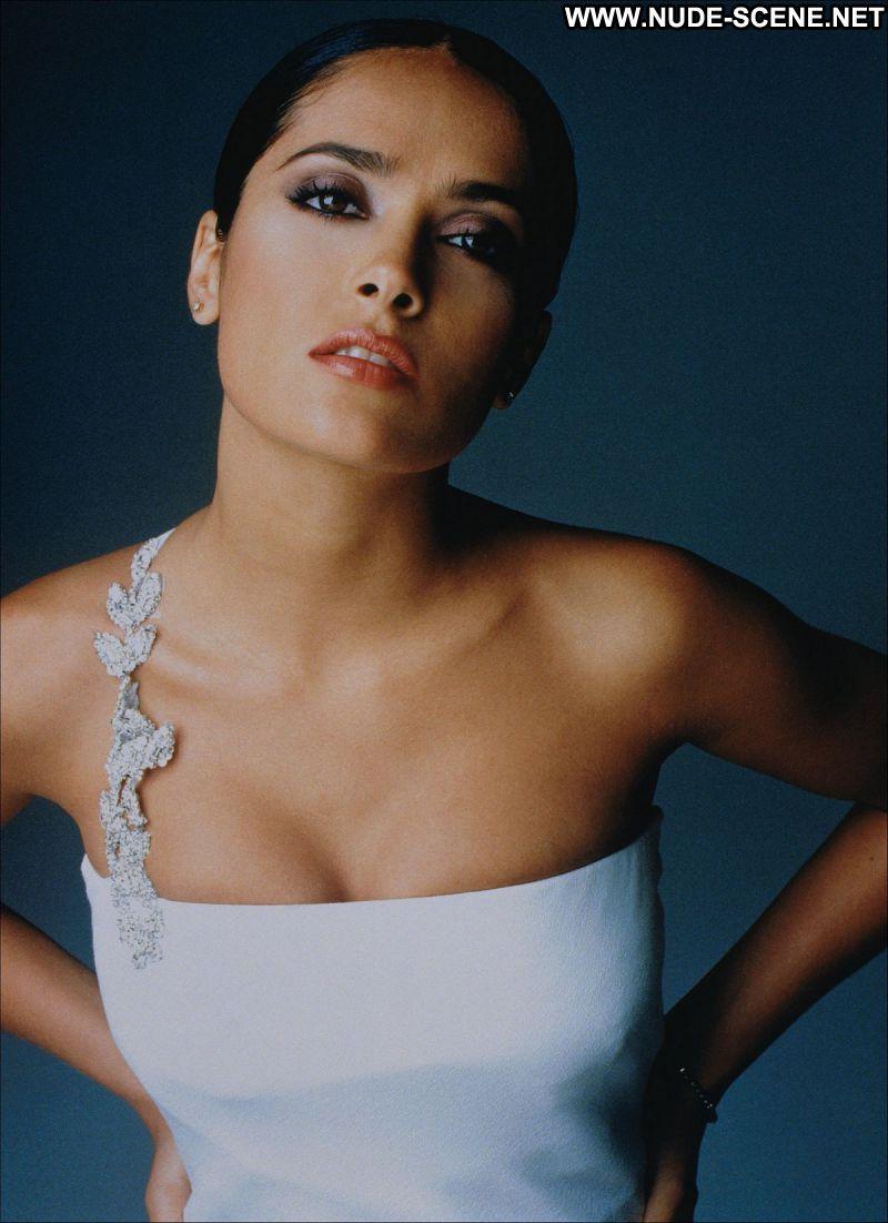 Salma Hayek No Source Celebrity Posing Hot Babe Celebrity