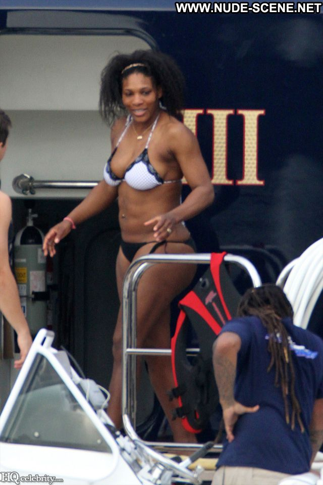 Serena Williams No Source Famous Nude Scene Posing Hot Babe