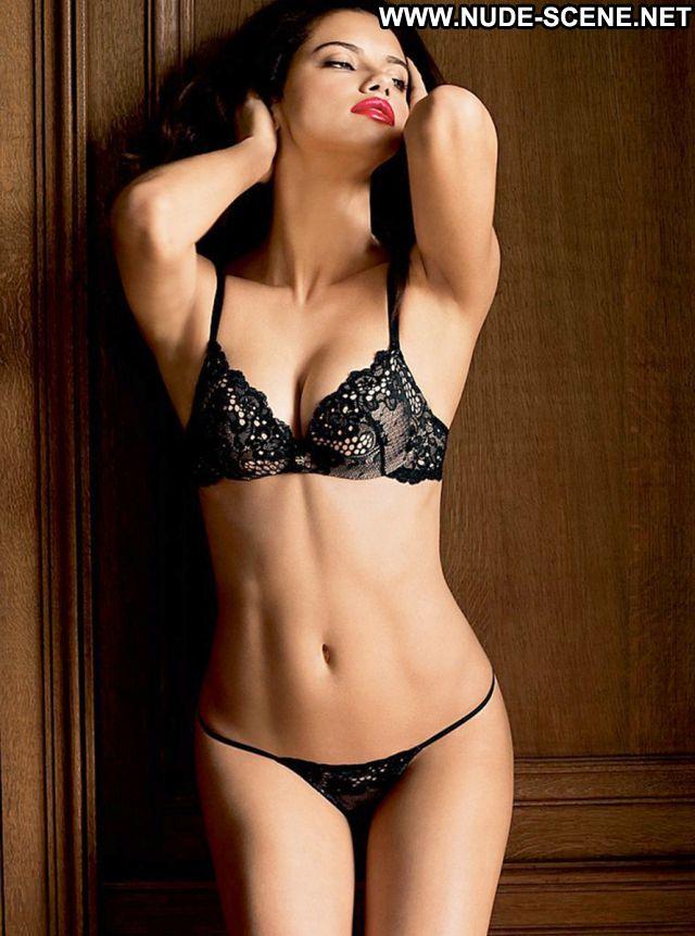 Adriana Lima Brazil Nude Scene Celebrity Lingerie Latina Posing Hot