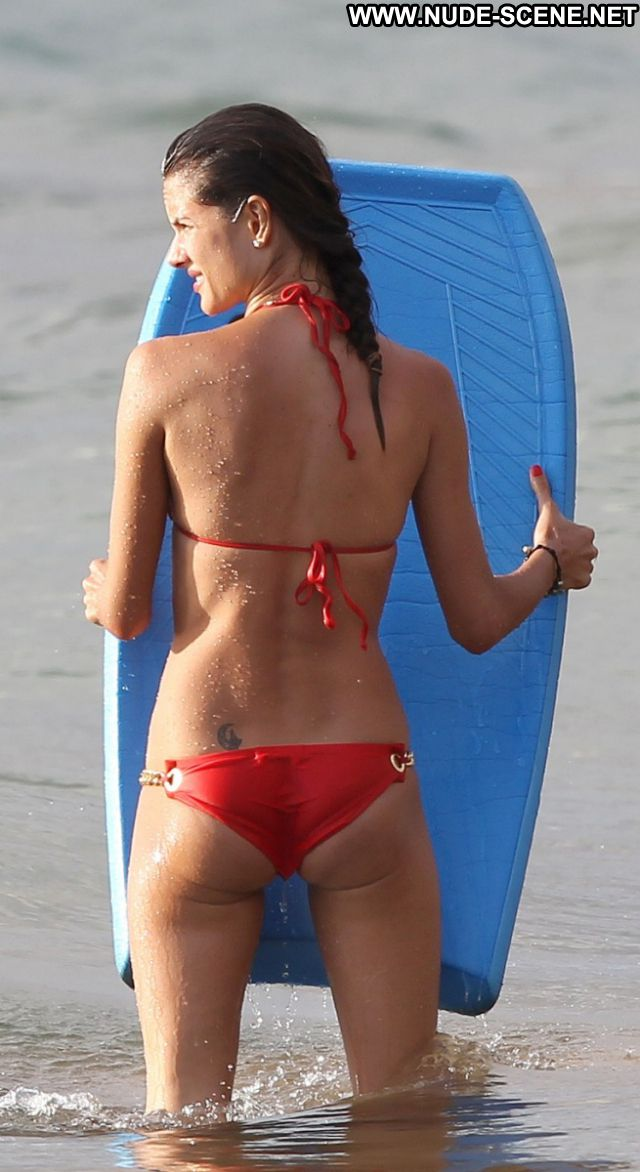 Alessandra Ambrosio No Source Brazil Bikini Latina Beach Celebrity