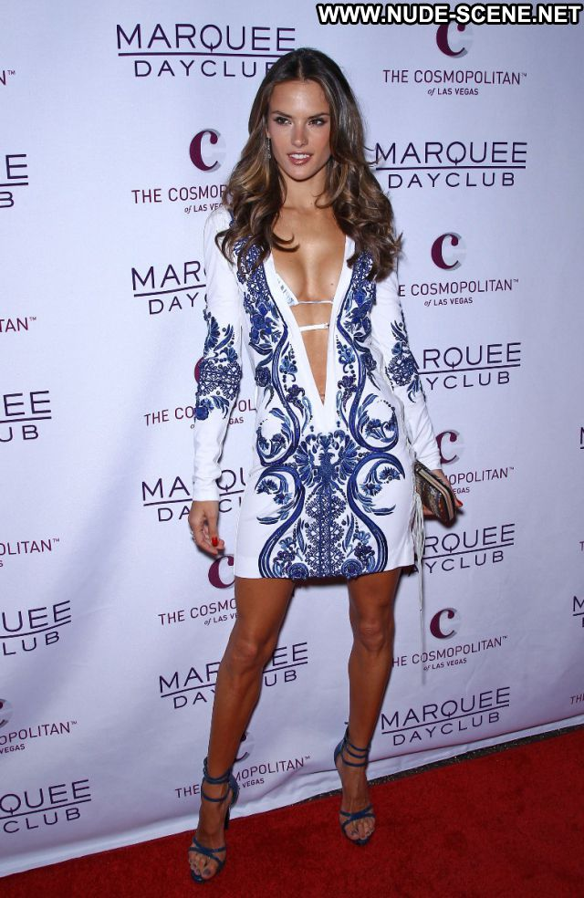 Alessandra Ambrosio No Source Sexy Dress Posing Hot Sexy Latina