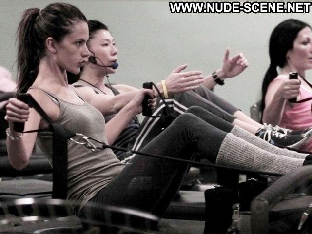 Alessandra Ambrosio Workout Spandex Brazilian Nude Scene Hot