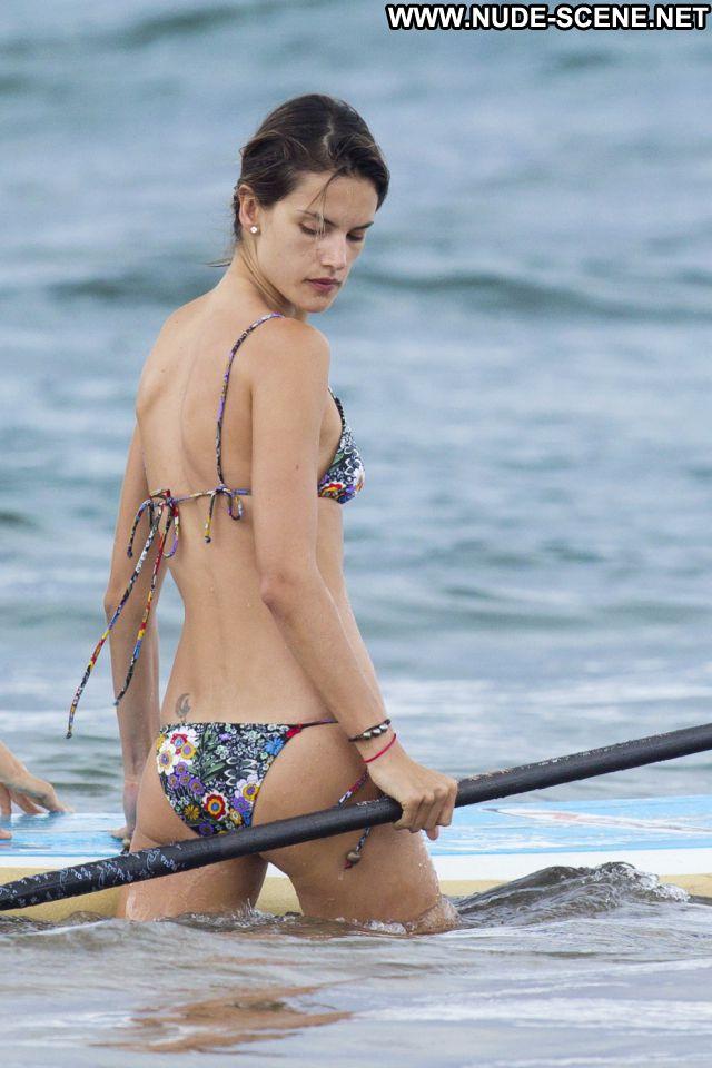 Alessandra Ambrosio No Source Brazil Celebrity Latina Nude Bikini