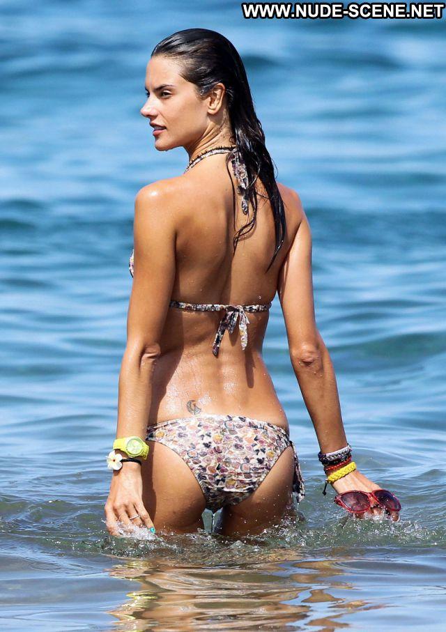 Alessandra Ambrosio No Source Nude Scene Nude Bikini Posing Hot