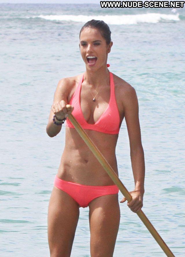 Alessandra Ambrosio No Source Celebrity Latina Nude Brazil Bikini