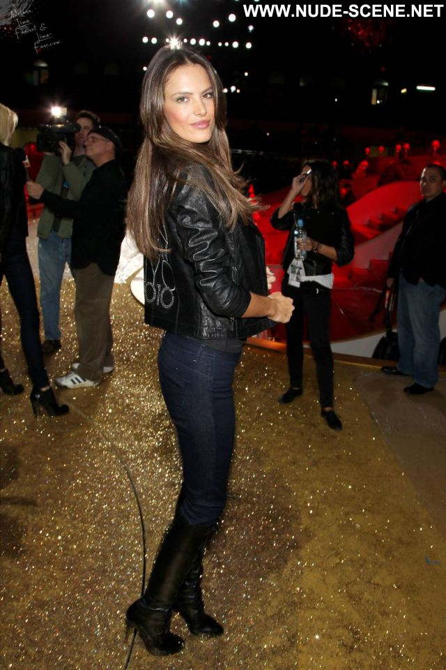 Alessandra Ambrosio No Source  Nude Jeans Celebrity Latina Nude Scene