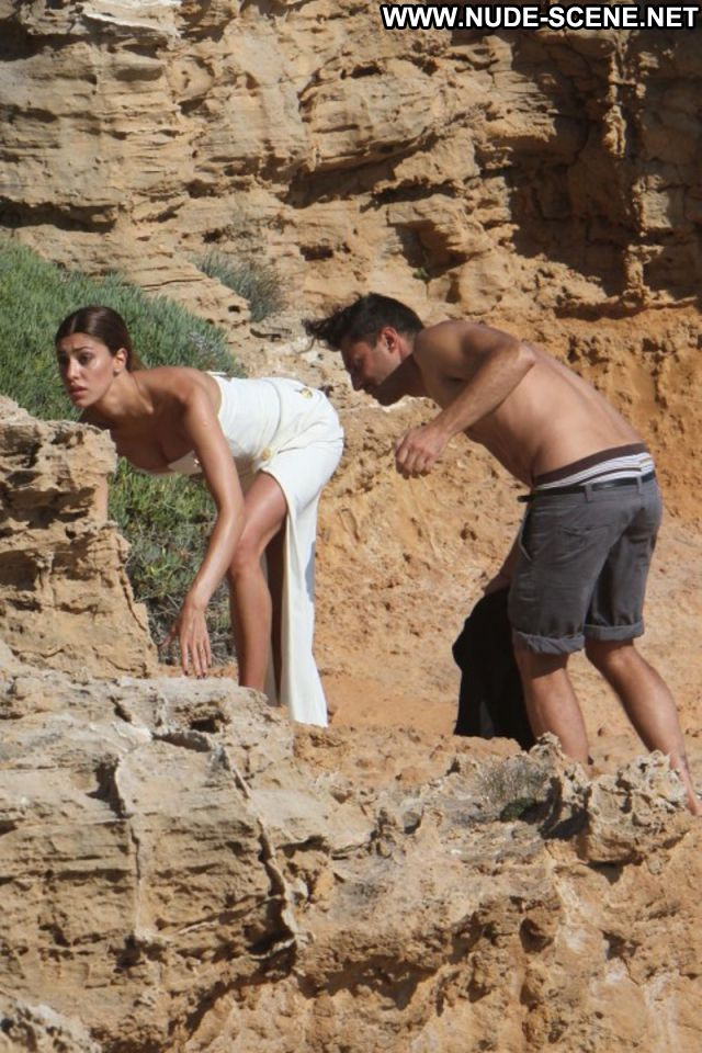 Belen Rodriguez No Source Argentina Blonde Celebrity Celebrity Nude
