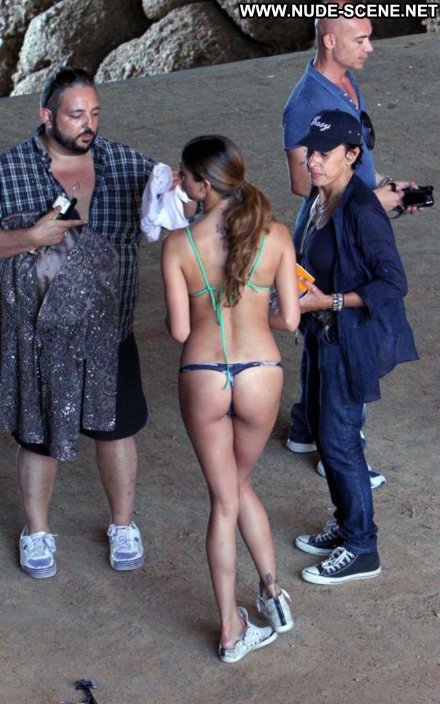 Belen Rodriguez No Source Blonde Celebrity Nude Scene Celebrity