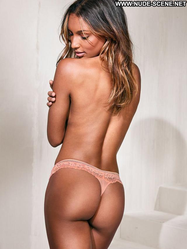 Jasmine Tookes New York Lingerie California International Posing Hot