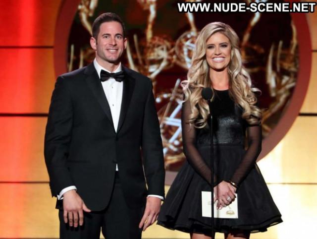 Christina El Moussa Emmy Awards Paparazzi Awards Beautiful Celebrity
