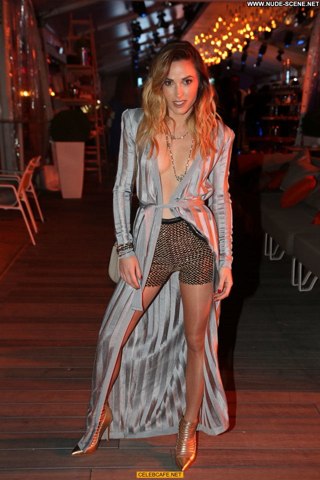 Capucine Anav No Source Posing Hot Legs Babe Cleavage Party Celebrity