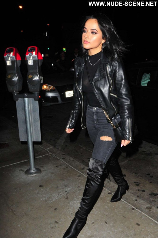 Becky G West Hollywood Posing Hot Beautiful Paparazzi Hollywood West