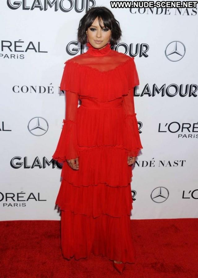 Kat Graham Glamour Women Glamour Nyc Posing Hot Beautiful Paparazzi