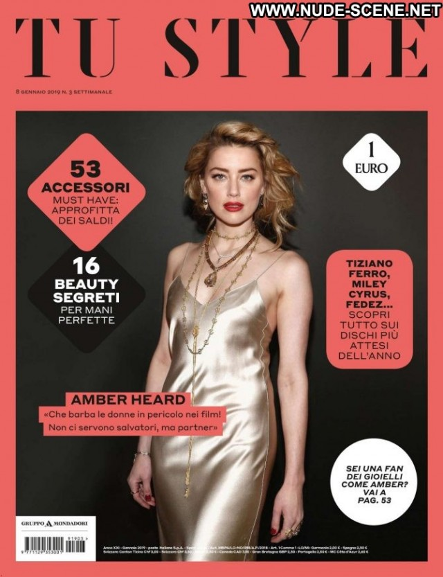 Amber Heard Style Magazine Beautiful Posing Hot Babe Magazine