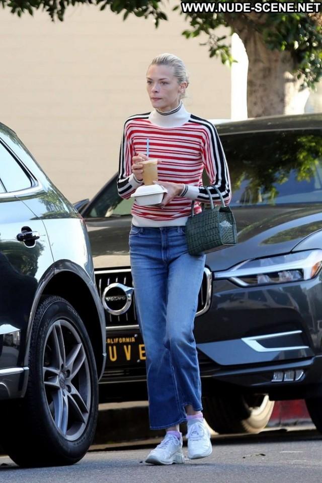 Jaime King Los Angeles Posing Hot Jeans Los Angeles Angel Celebrity