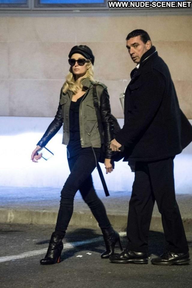 Paris Hilton No Source Beautiful Shopping Posing Hot Paparazzi