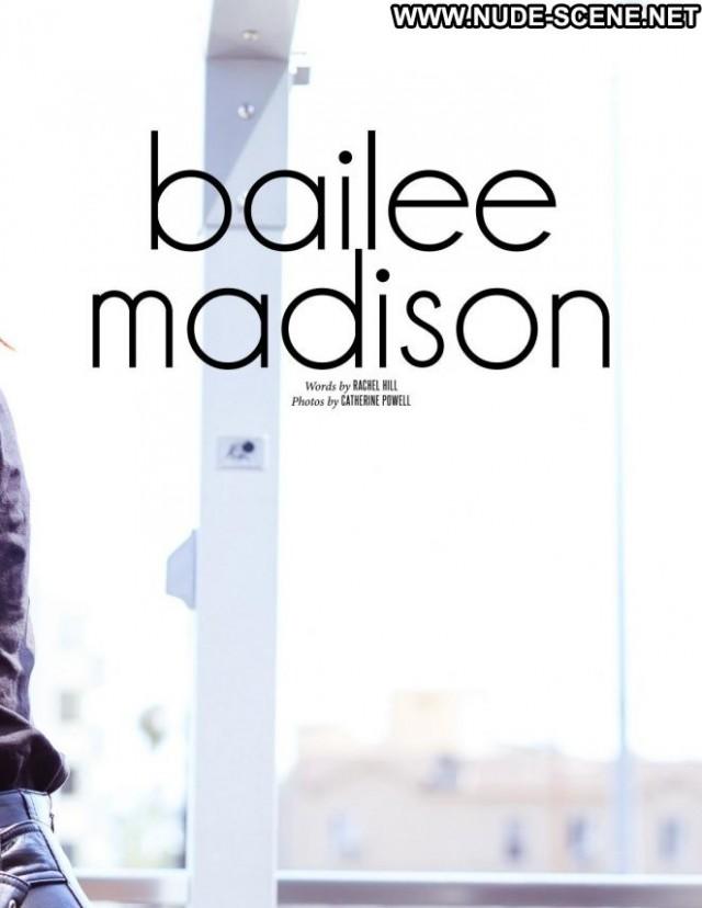 Bailee Madison No Source Magazine Beautiful Posing Hot Babe Celebrity