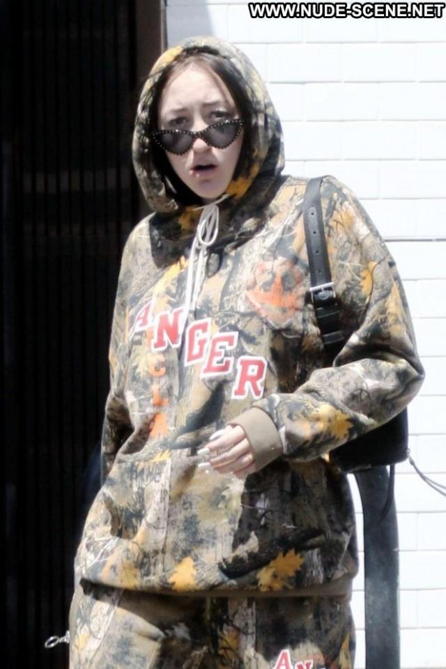 Noah Cyrus Studio City  Babe Paparazzi Beautiful Celebrity Posing Hot