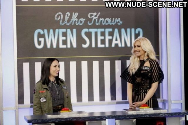 Gwen Stefani Jimmy Kimmel Live  Beautiful Celebrity Paparazzi Live