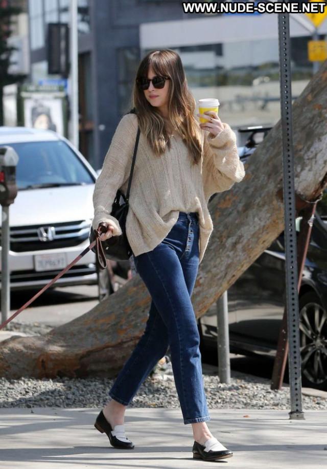 Dakota Johnso Melrose Place Beautiful Paparazzi Celebrity Los Angeles
