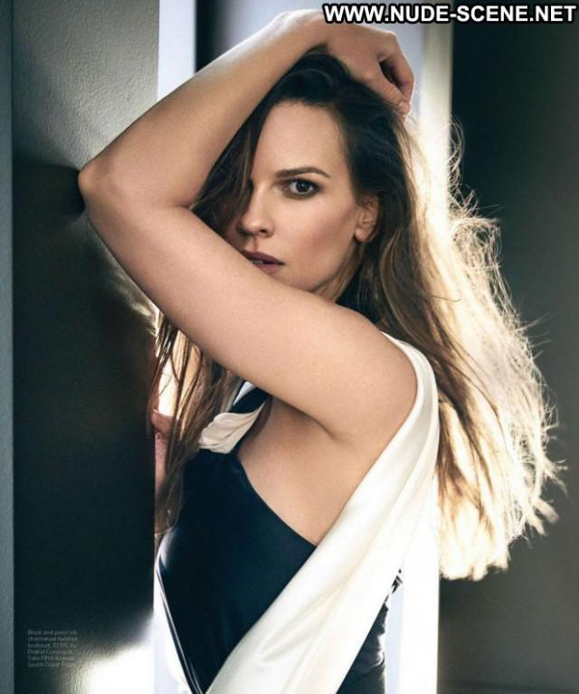 Hilary Swank Los Angeles Babe Angel Posing Hot Celebrity Magazine Los