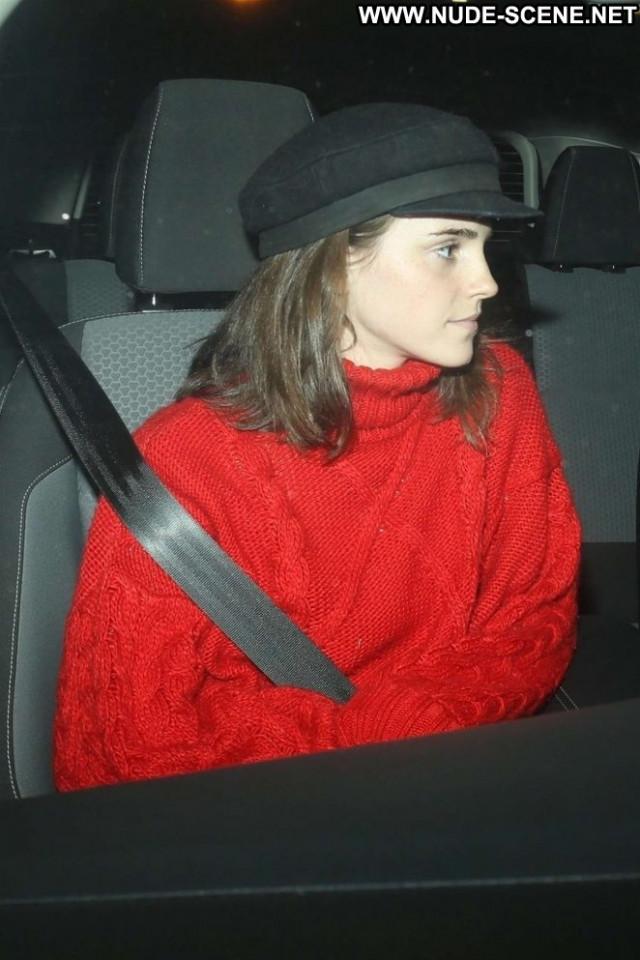 Emma Watson Los Angeles  Babe Celebrity Paparazzi Posing Hot Los