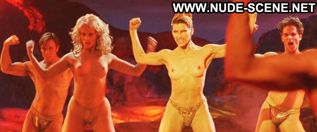 Gina Gershon Nude Sexy Scene Showgirls Stripper Blonde Horny