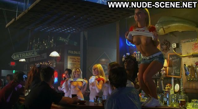 Kayla Martin Nude Sexy Scene Road Trip Beer Pong Flashing