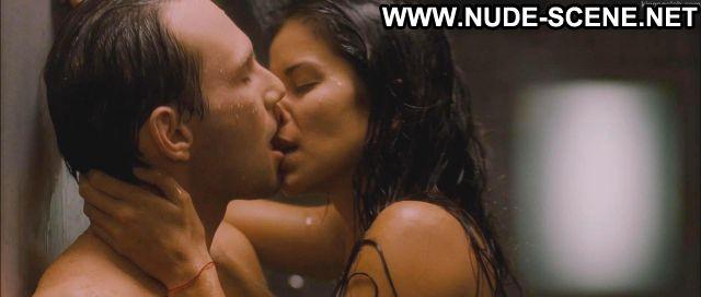 Patricia Velasquez Mindhunters Shower Sex Scene Venezuelan