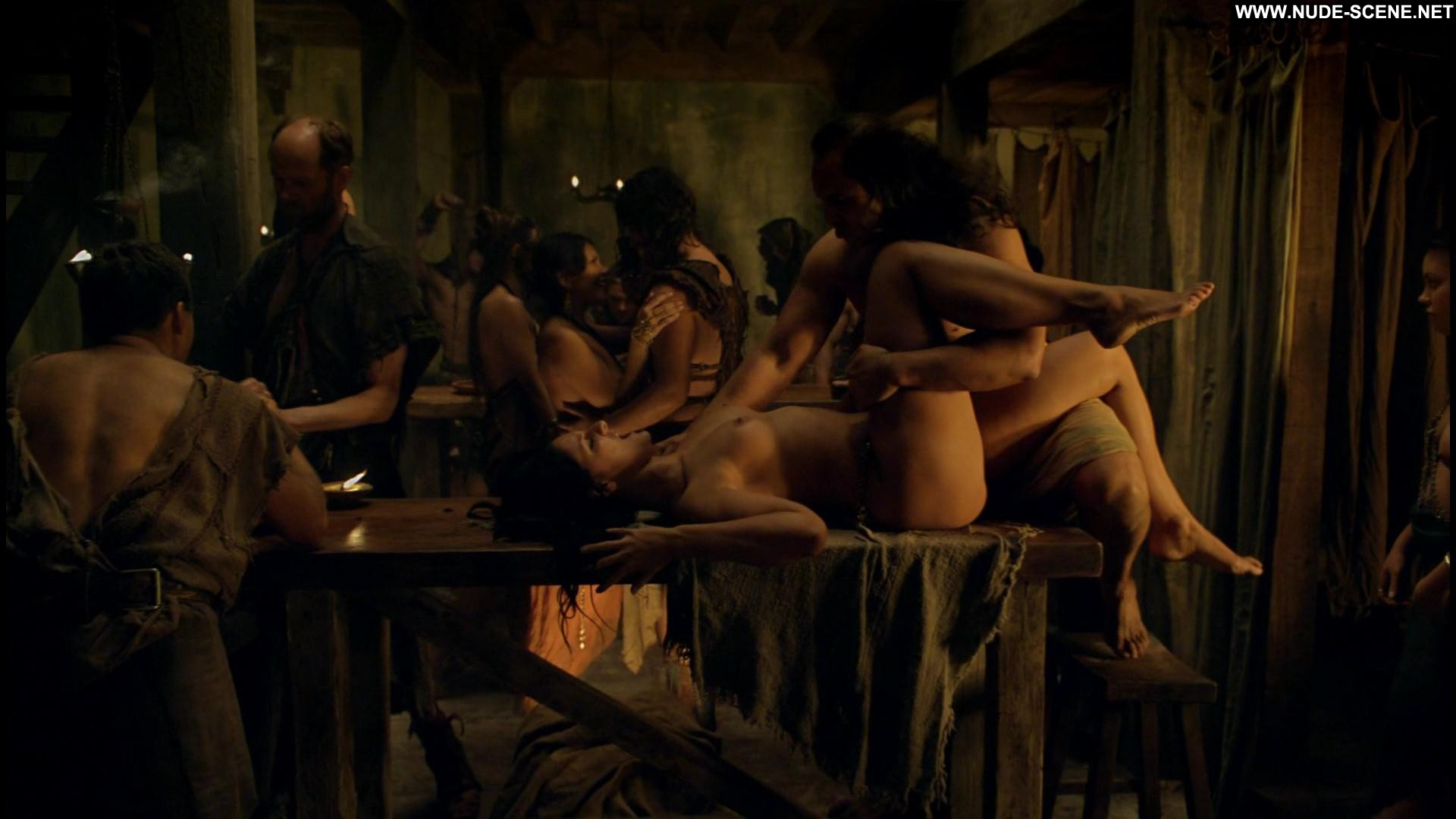 Naked scenes from spartacus