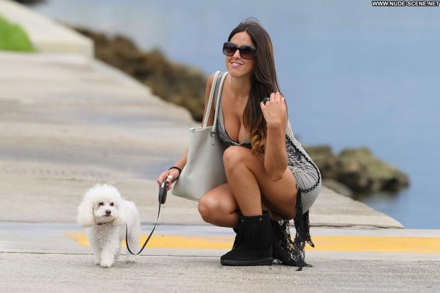 Claudia Romani Nude Sexy Scene South Beach Miami Posing Hot