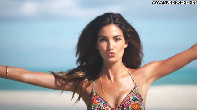 Lily Aldridge Sports Illustrated Sexy Beautiful Swimsuit Celebrity