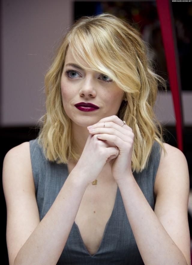Emma Stone Studio City Beautiful Posing Hot Celebrity Babe High
