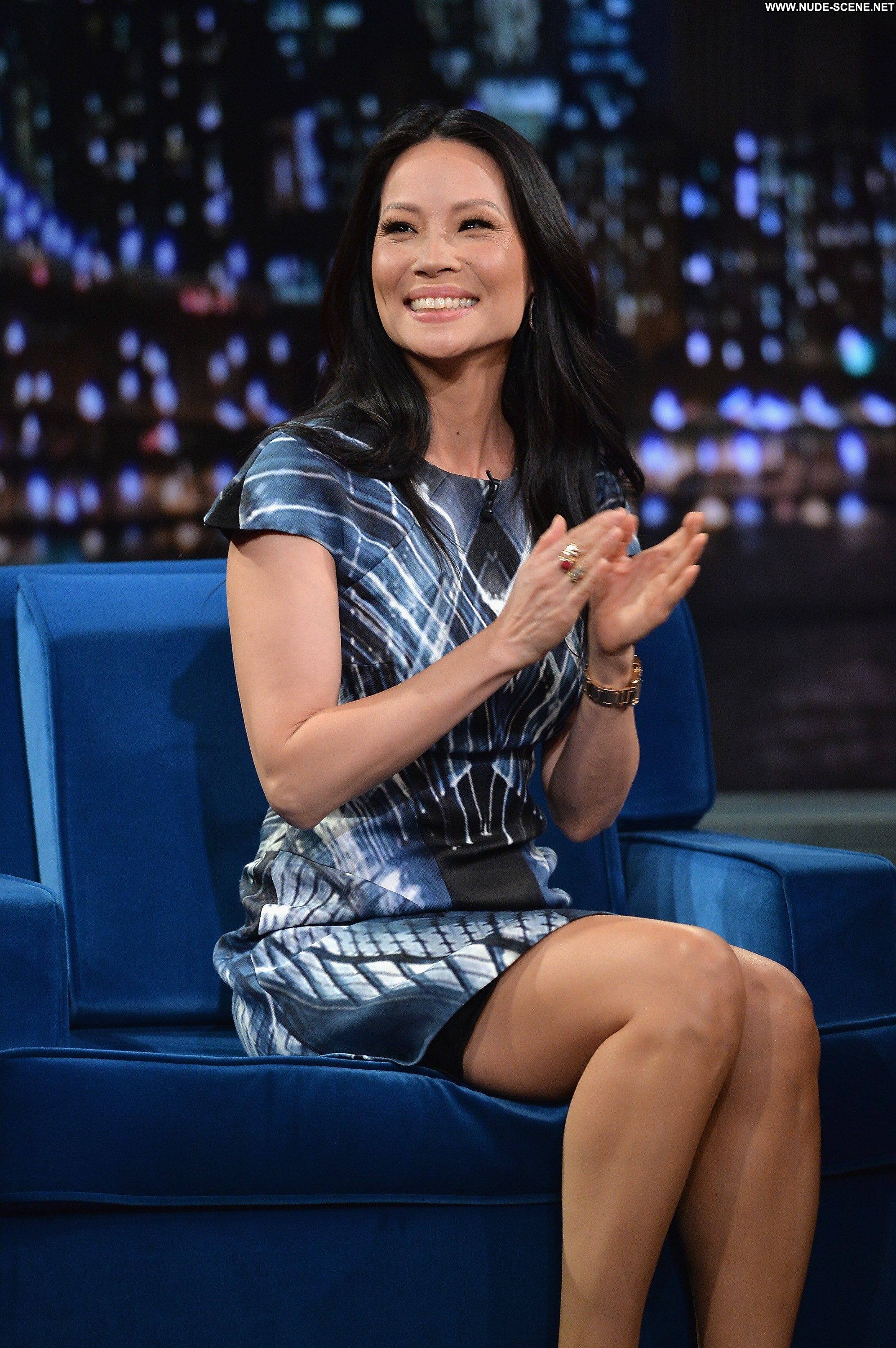 Lucy Liu Late Night With Jimmy Fallon Celebrity Beautiful -3869