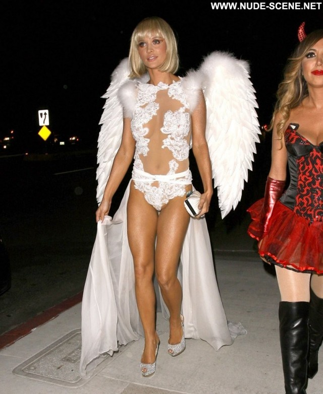 Joanna Krupa Halloween Party Celebrity High Resolution Party Posing