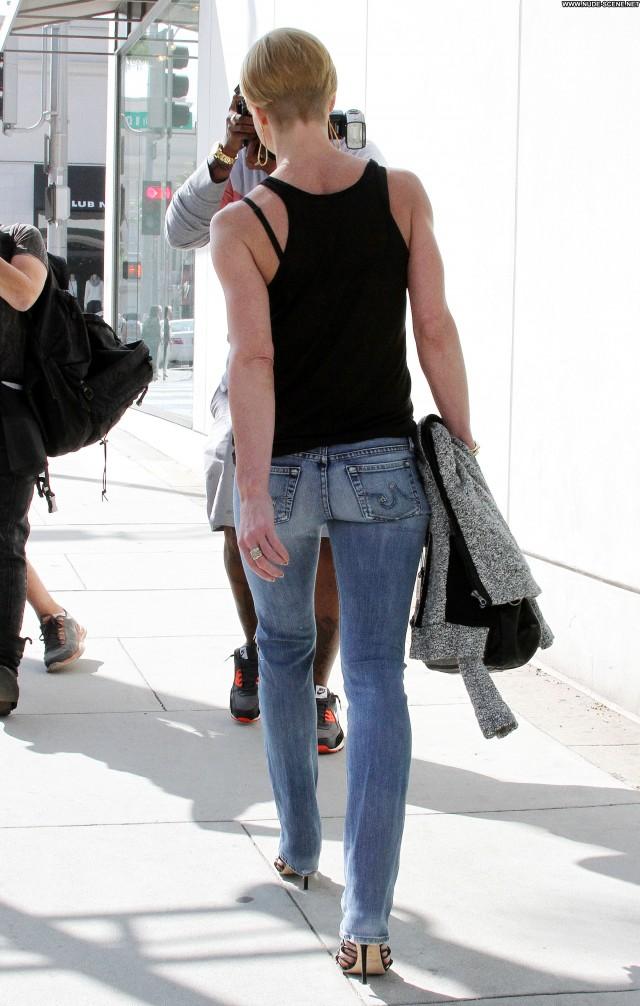 Jaime Pressly Los Angeles Candids Beautiful Celebrity Posing Hot Babe