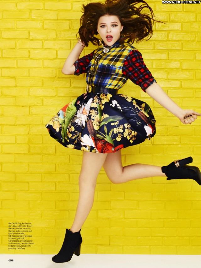 Chl  E Moretz Magazine Posing Hot Babe Celebrity Magazine Beautiful