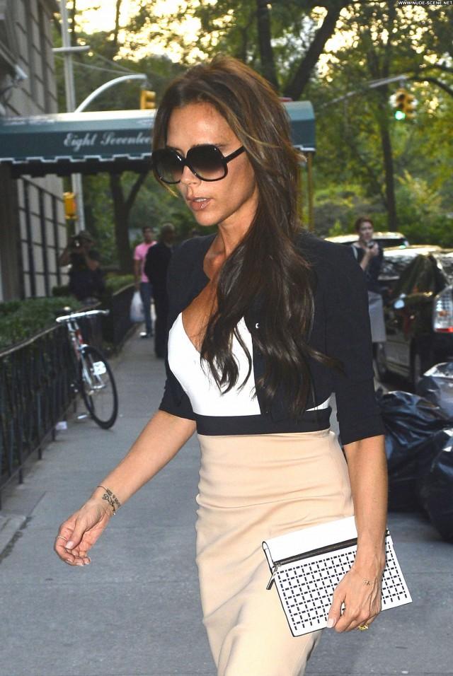 Victoria Beckham New York New York Beautiful High Resolution Posing