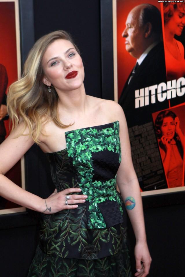 Scarlett Johansson Hitchcock Celebrity Posing Hot High Resolution