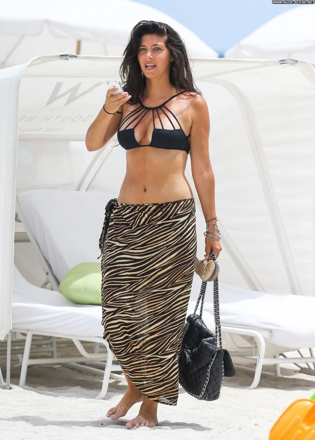 Brittny Gastineau South Beach Posing Hot High Resolution Bikini