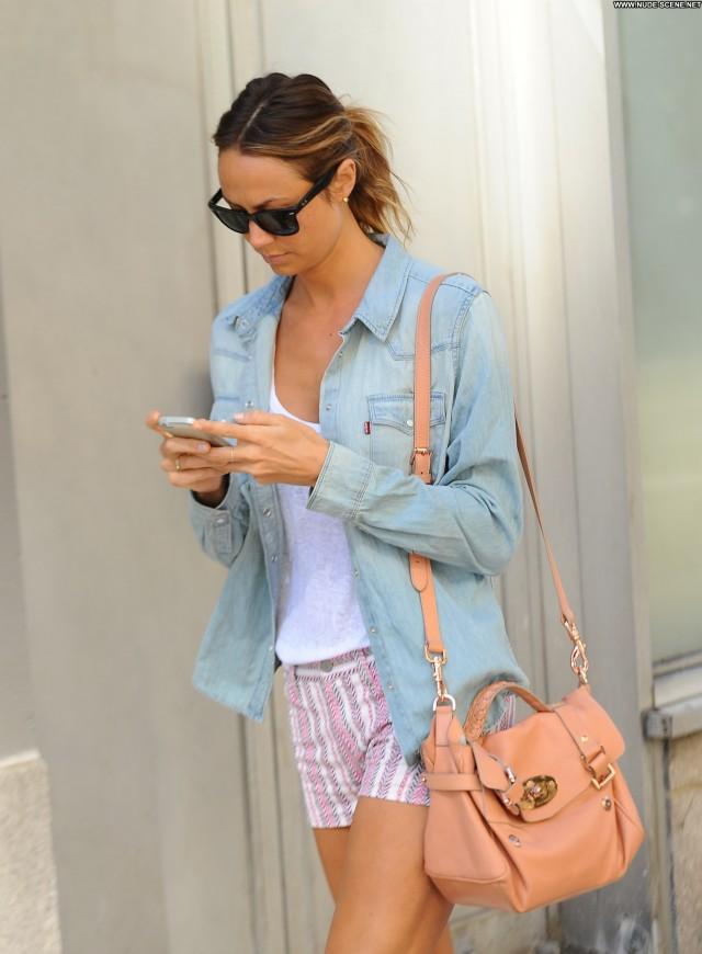 Stacy Keibler New York Candids Beautiful Celebrity Babe Posing Hot
