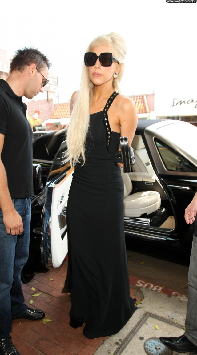 Lady Gaga West Hollywood Beautiful Babe High Resolution Posing Hot