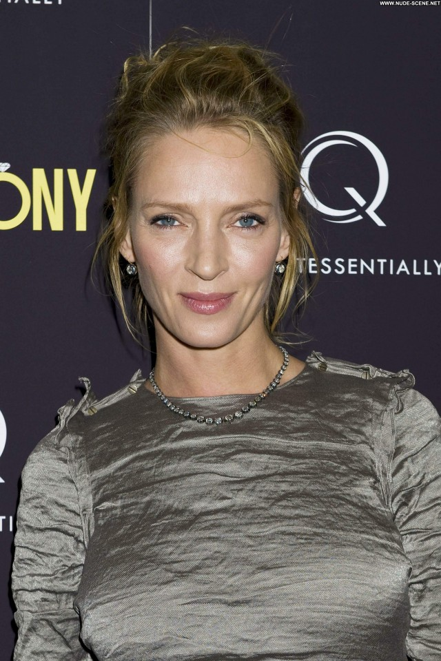Uma Thurman New York New York Celebrity High Resolution Beautiful