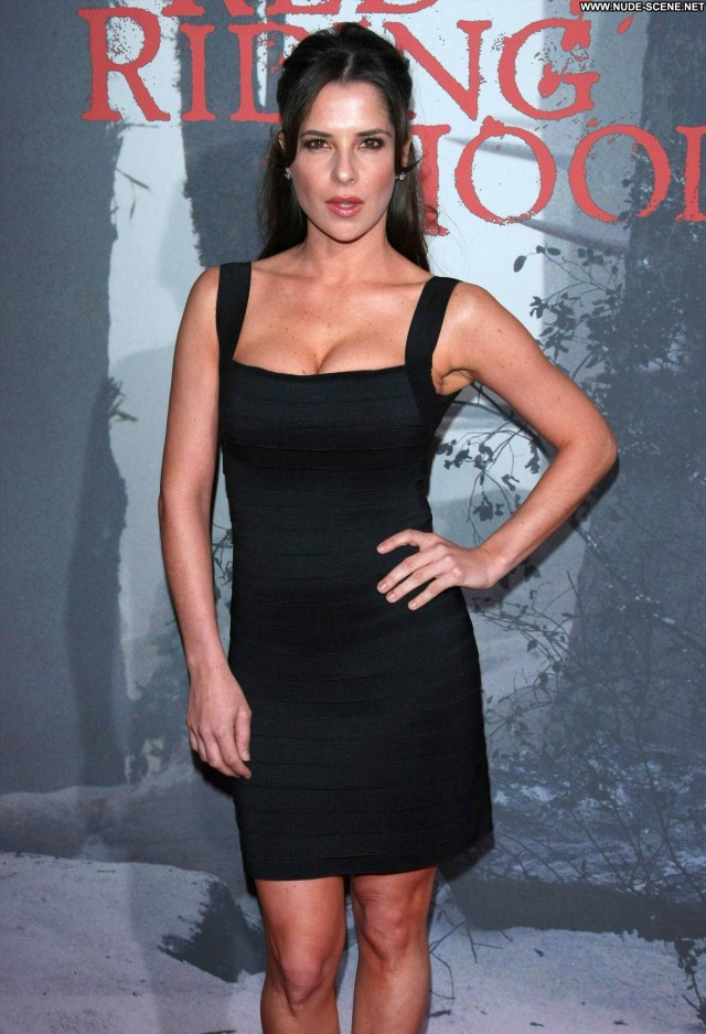 Kelly Monaco Red Riding Hood Posing Hot Monaco Babe Celebrity High