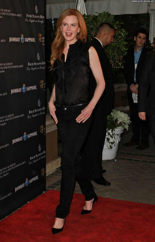 Nicole Kidman Los Angeles Posing Hot Los Angeles Celebrity Party