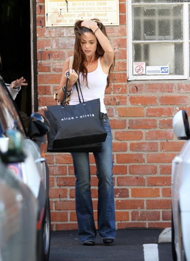 Denise Richards West Hollywood Restaurant Babe Posing Hot Celebrity