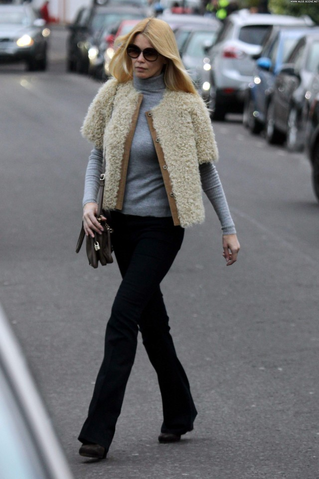 Claudia Schiffer No Source Celebrity London School Babe High